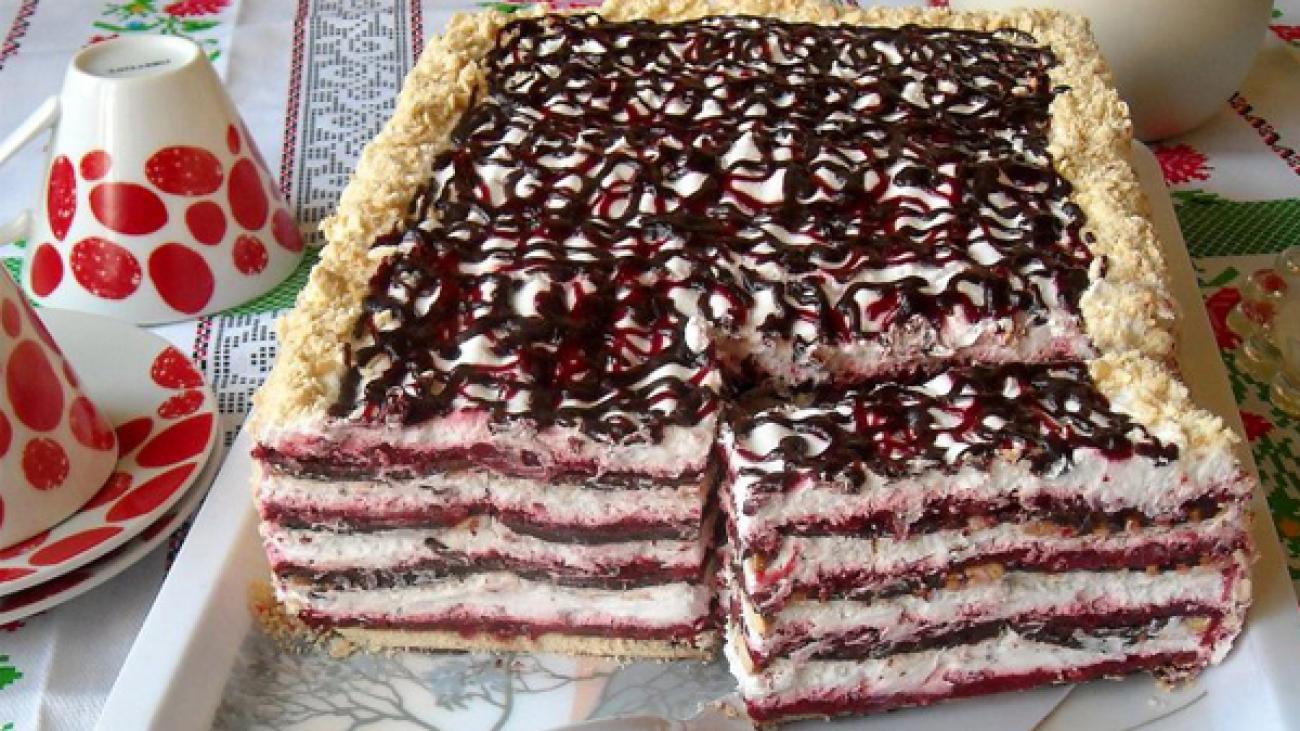 plazma torta sa malinom i cokoladom