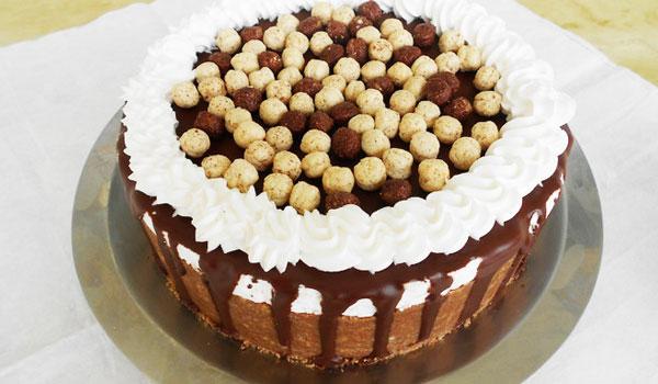 Čokoladni čizkejk sa plazma keksom