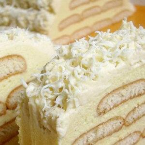 ledeni breg torta sa plazmom